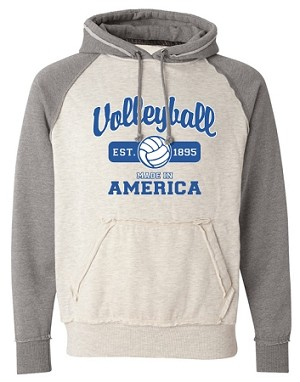 "3008 Volleyball ""Made In America"" Vintage Hoodie"