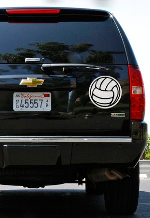 8005 Volleyball Magnet