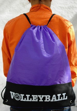 "8006 ""Volleyball"" Drawstring Backpack"