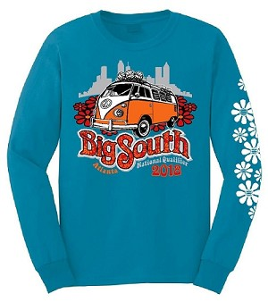 2018 Big South Long Sleeve T-Shirt- Items will ship in approximately 2 weeks