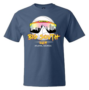 2019 Big South Premium Fitted Short Sleeve T-Shirt