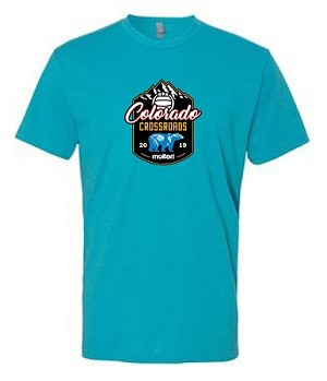 2019 Colorado Crossroads Premium Fitted Short Sleeve T-Shirt