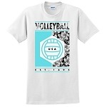 Tropical Volleyball T-Shirt