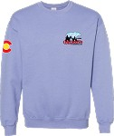 2020 Colorado Crossroads Crew Neck Sweatshirt, Violet